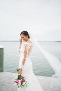 Special Moments Event Planning _ Events by Special Moments - St Petersburg Florida wedding planner - tampa bay watch - florida beach wedding -bride on beach