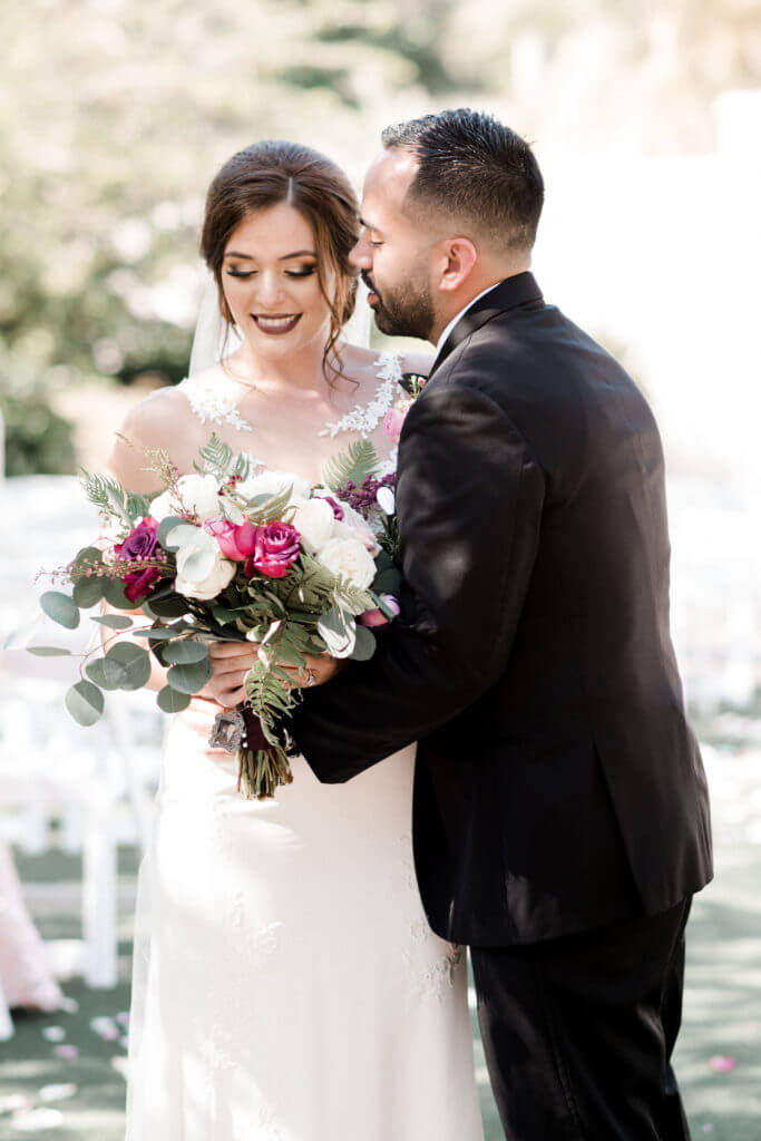 Largo Botanical Gardens - Pinellas County wedding venues - Carography Studios- Special Moments Event Planning - bride - groom - wedding ceremony