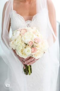 special moments event planning - tammy waterman - opal sands resort - clearwater beach wedding - clearwater beach wedding planner - blush bridal bouquet