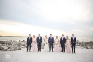 special moments event planning - tammy waterman - opal sands resort - clearwater beach wedding - clearwater beach wedding planner - clearwater beach wedding party photos