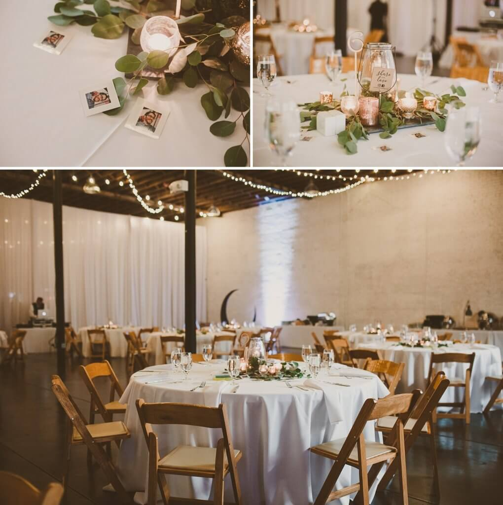 Events by special moments- Florida wedding planner- tattooed wedding – rose gold- vegetarian wedding -reception decor