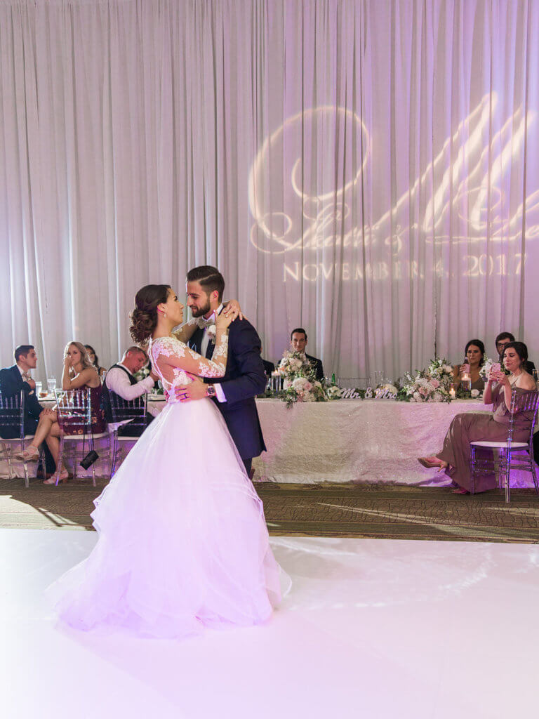 Events by Special Moments- Tampa wedding planner – Grand Hyatt Tampa Bay – Tampa luxury weddings – Special Moments Event Planning -first dance