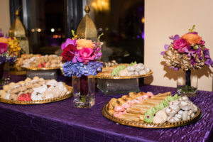 Events by special moments – Tampa Wedding Planner – Special Moments Event Planning – Avila Country Club – Moroccan Wedding- homemade moroccan pastry