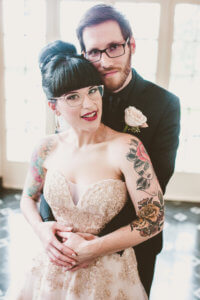 Events by special moments- Florida wedding planner- tattooed wedding – rose gold- vegetarian wedding -tattooed bride and groomjpg