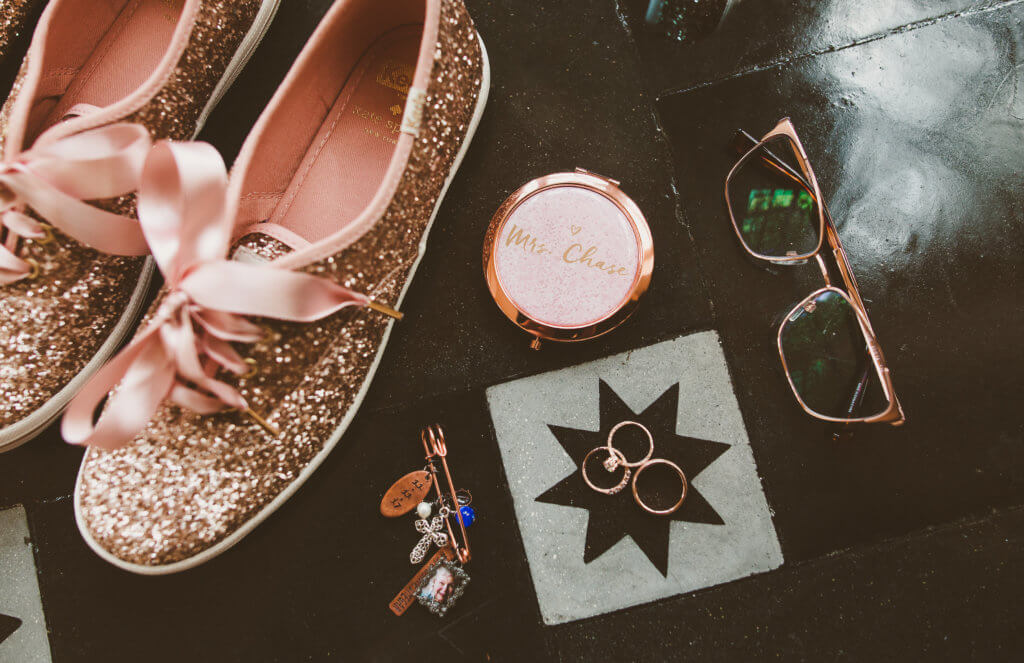 Events by special moments- Florida wedding planner- tattooed wedding – rose gold- vegetarian wedding - kate spade -rose gold
