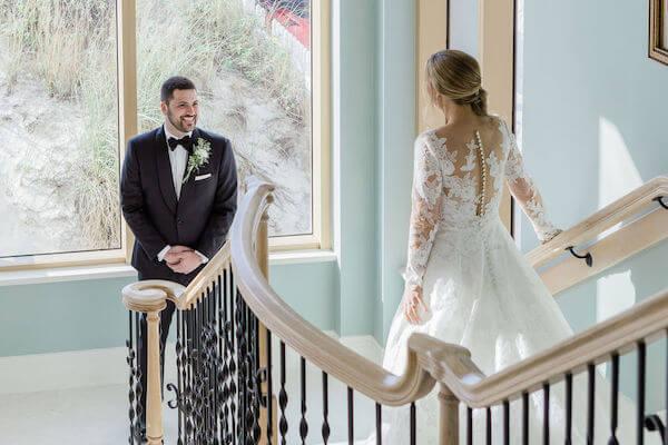 Clearwater beach weddings – clearwater beach Jewish wedding – Sandpearl Resort weddings - first look