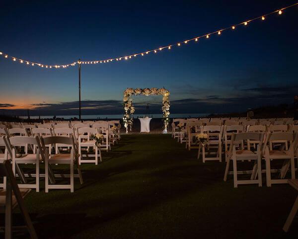 Clearwater beach weddings – clearwater beach Jewish wedding – Sandpearl Resort weddings - sun setting on Clearwater Beach