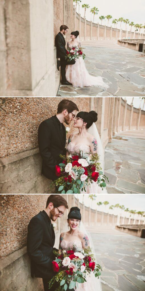 Events by special moments- Florida wedding planner- tattooed wedding – rose gold- vegetarian wedding -wedding portraits