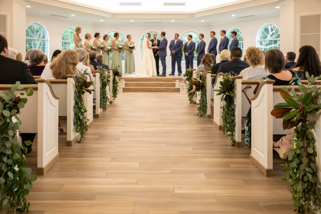 Safety Harbor wedding -Harborside Chapel - Safety Harbor wedding planner
