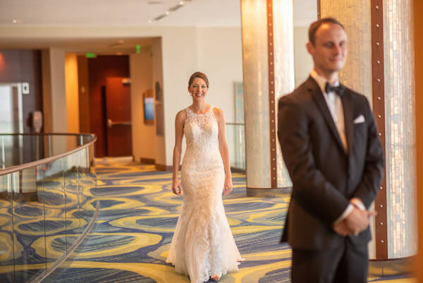 Special Moments Event Planning - Clearwater wedding - first look