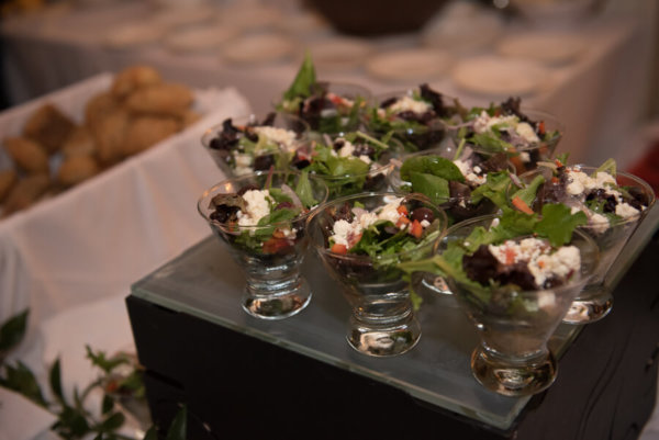 Clearwater Beach wedding - salad station - stations style wedding reception - Carlouel Yacht and Country Club