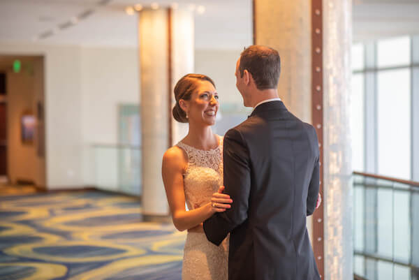 Clearwater Beach Wedding - First look- Events By Special Moments