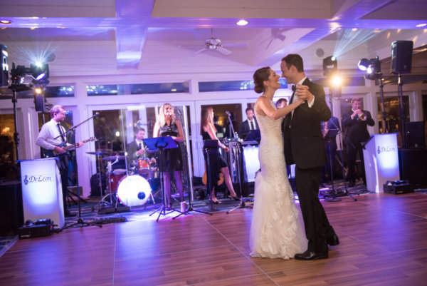 first dance - DeLeon Entertainment - Clearwater Beach Wedding