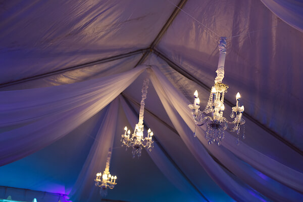 Special Moments Event Planning - 15th anniversary party - LED chandelier