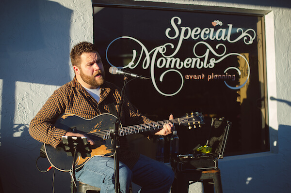 Special Moments Event Planning - 15th anniversary party - guitar music