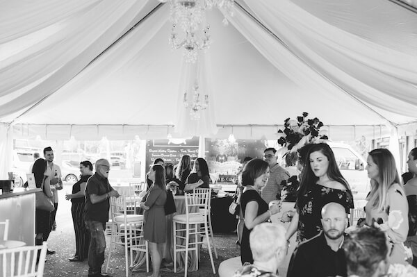 Special Moments Event Planning - 15th anniversary party - party under the tent