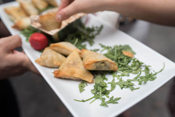 Special Moments Event Planning - 15th anniversary party - Samosas