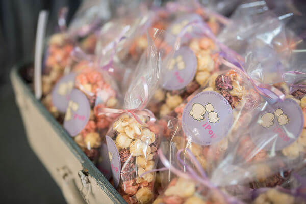 Special Moments Event Planning - 15th anniversary party - gourmet popcorn