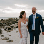 Beach wedding portraits - beach weddings - Florida beach weddings