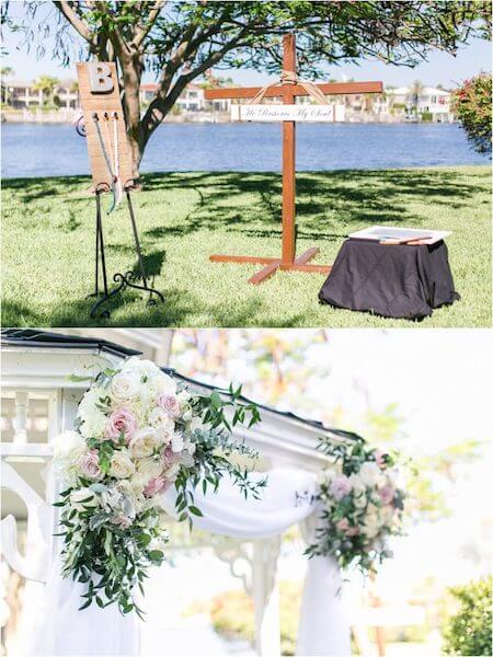 Special Moments Event Planning – Tampa Wedding Planner – Davis Island Garden Club – Davis Island Garden Club Wedding - ceremony decorations