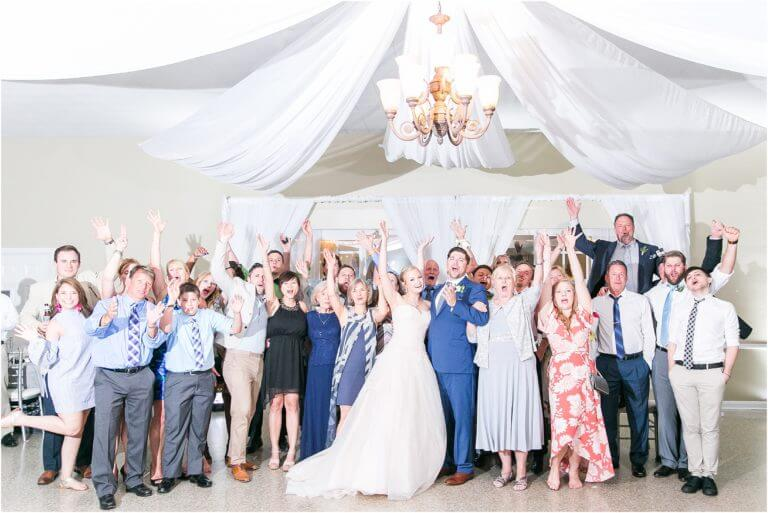 Special Moments Event Planning – Tampa Wedding Planner – Davis Island Garden Club – Davis Island Garden Club Wedding - wedding photo with all of the guests