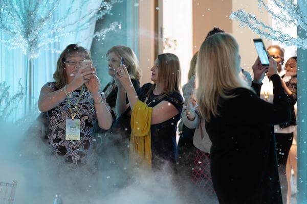 Special Moments Event Planning – Tampa Wedding Planner – Master Wedding Planner - Grand Hyatt Tampa – Association of Bridal Consultants - snowing in florida