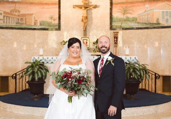 Special Moments Event Planning – Tampa Wedding Planner – Tampa Bay Wedding Planner- Tampa Wedding – Armature Works wedding - Mary Help of Christians