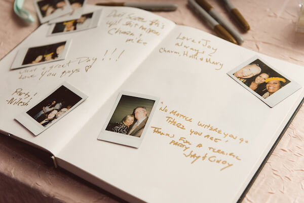 Special Moments Event Planning – Tampa Wedding Planner – Tampa Bay Wedding Planner- Tampa Wedding – Armature Works wedding - Polaroid guest book