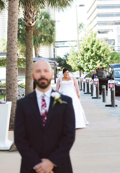 Special Moments Event Planning – Tampa Wedding Planner – Tampa Bay Wedding Planner- Tampa Wedding – Armature Works wedding - first look