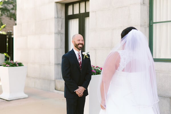 Special Moments Event Planning – Tampa Wedding Planner – Tampa Bay Wedding Planner- Tampa Wedding – Armature Works wedding - really happy groom