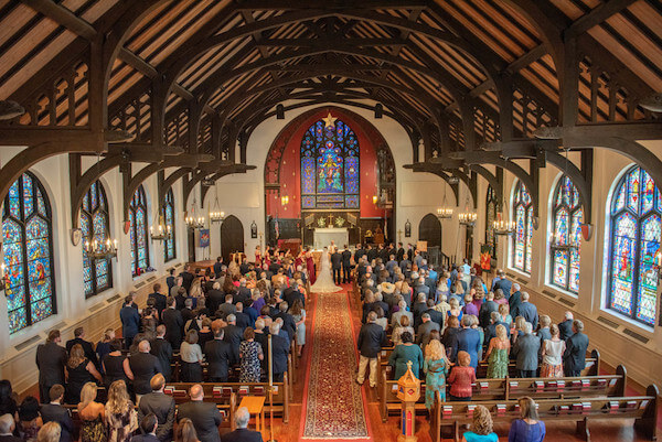 Wedding ceremony at Episcopal Church of the Ascension in Clearwater - Special Moments Event Planning. - Clearwater wedding ceremony