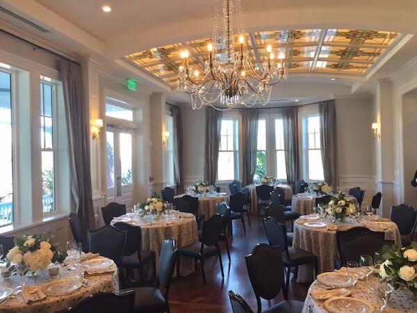 Tiffany room - Tammy Waterman - Master Wedding Planner - Clearwater Wedding Planner - Belleview Inn - Clearwater Weddings - Opal Collection - intimate clearwater weddings