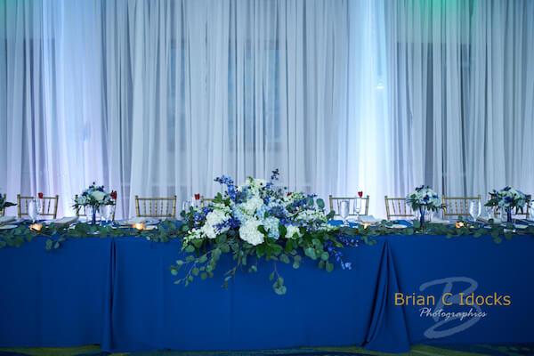 11 - Opal Sands Wedding- Clearwater Beach Weddings – Clearwater Beach Wedding Planner - head table
