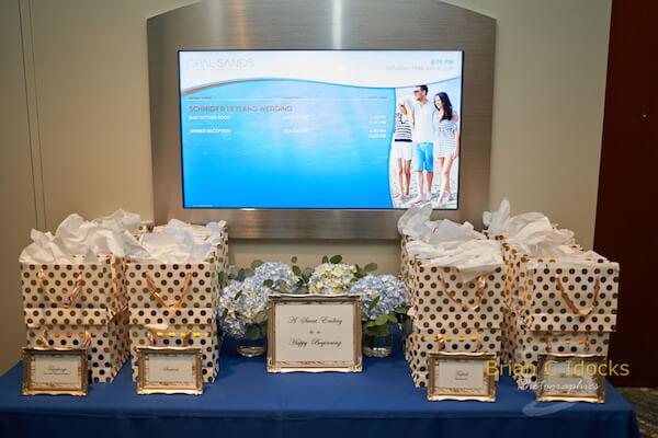 Opal Sands Wedding- Clearwater Beach Weddings – Clearwater Beach Wedding Planner - Girl Scout Cookies - wedding favor