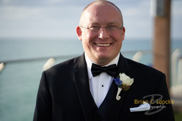 Opal Sands Wedding- Clearwater Beach Weddings – Clearwater Beach Wedding Planner - groom