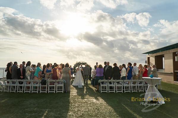 Opal Sands Wedding- Clearwater Beach Weddings – Clearwater Beach Wedding Planner -sunset wedding ceremony