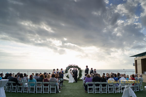 Opal Sands Wedding- Clearwater Beach Weddings – Clearwater Beach Wedding Planner - Opal Sands wedding ceremony