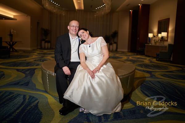 Opal Sands Wedding- Clearwater Beach Weddings – Clearwater Beach Wedding Planner - tired bride and groom