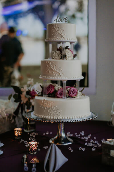 Clearwater Beach Wedding – Clearwater Beach Recreation Center wedding- Clearwater Beach wedding planner - Publix wedding cake