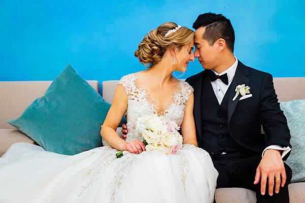 Clearwater Beach Wedding – Hyatt Regency Clearwater Beach – Clearwater Beach wedding planner - bride and groom
