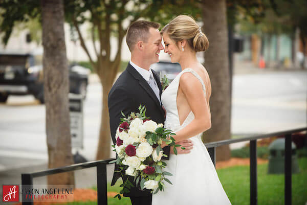 The Vault – Tampa Wedding Venue – Tampa Wedding Planner - bride and groom