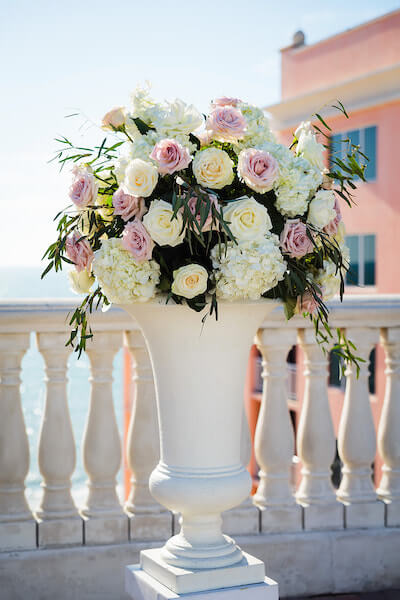 Clearwater Beach Wedding – Hyatt Regency Clearwater Beach – Clearwater Beach wedding planner - ceremony decor