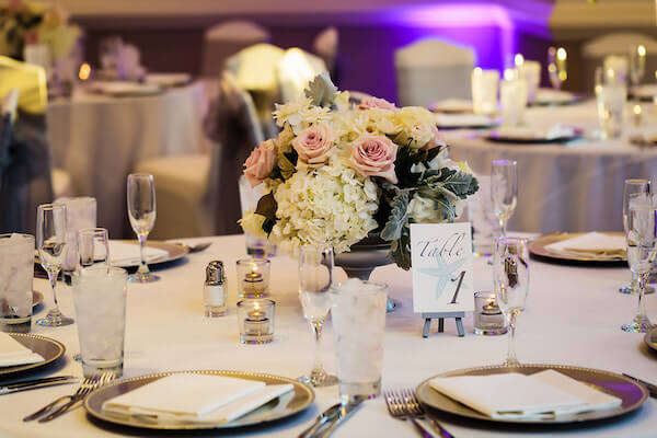 Clearwater Beach Wedding – Hyatt Regency Clearwater Beach – Clearwater Beach wedding planner - wedding centerpiece