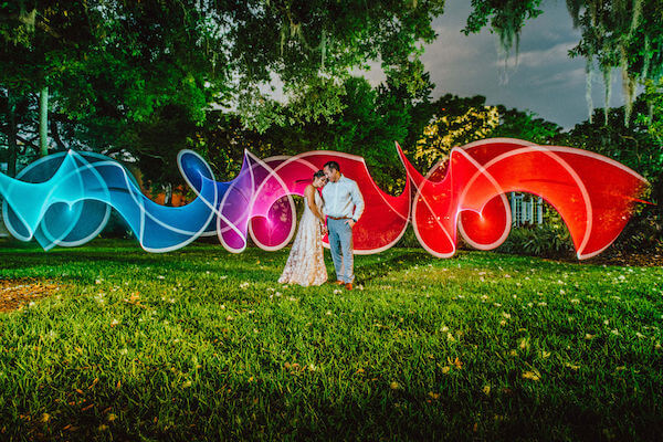 Tampa wedding planner- Special Moments Event Planning – Tampa Garden Club wedding - bride and groom