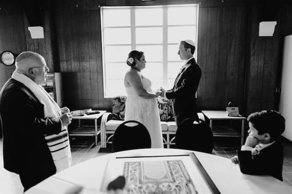St Pete wedding – St Petersburg wedding planner – St Petersburg shuffleboard club wedding - ketubah signing