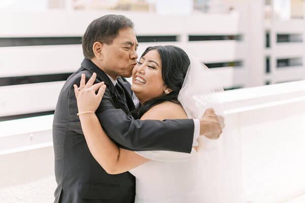 bride and father - St Petersburg wedding  - St Petersburg wedding planner