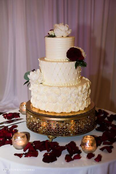 Special Moments Event Planning - Sandpearl Resort - Clearwater Beach Wedding - buttercream wedding cake