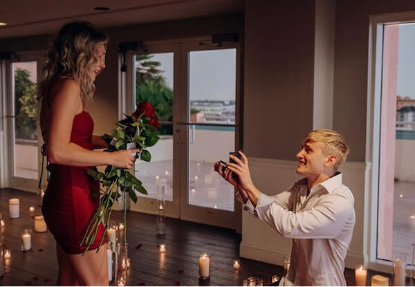 Special Moments Event Planning - Hyatt Regency Clearwater Beach - wedding proposal - She Said YES - Engagement Story - down on one knee