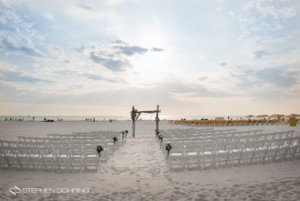 Special Moments Event Planning - Sandpearl Resort - Clearwater Beach Wedding - beach wedding - sunset wedding ceremony