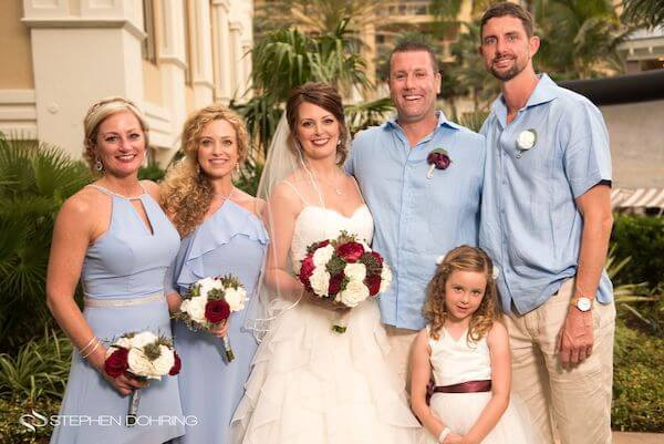 Special Moments Event Planning - Sandpearl Resort - Clearwater Beach Wedding - wedding party -